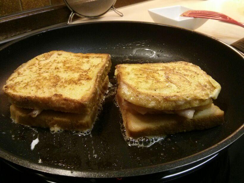 French Toast / Croque Monsieur crossover 1
