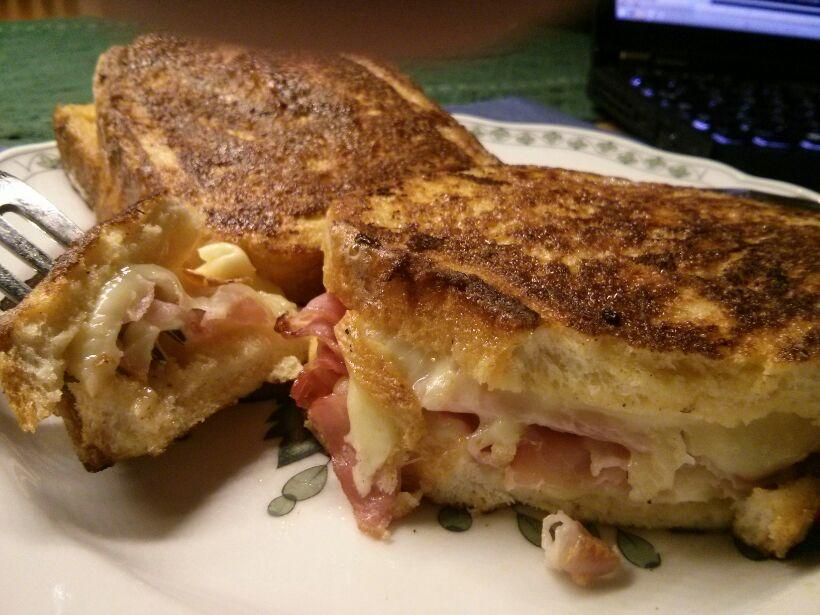French Toast / Croque Monsieur crossover 2