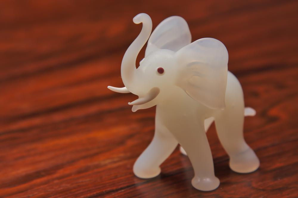 Another Glass Elephant